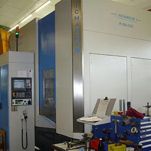 Richardon R300 Abwälz-Fräsmaschinen
